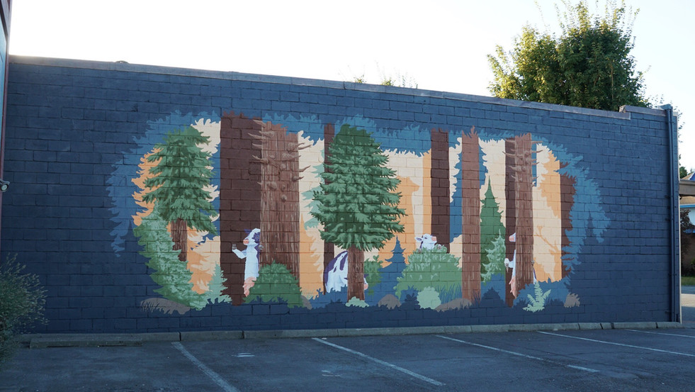 The mural as a whole