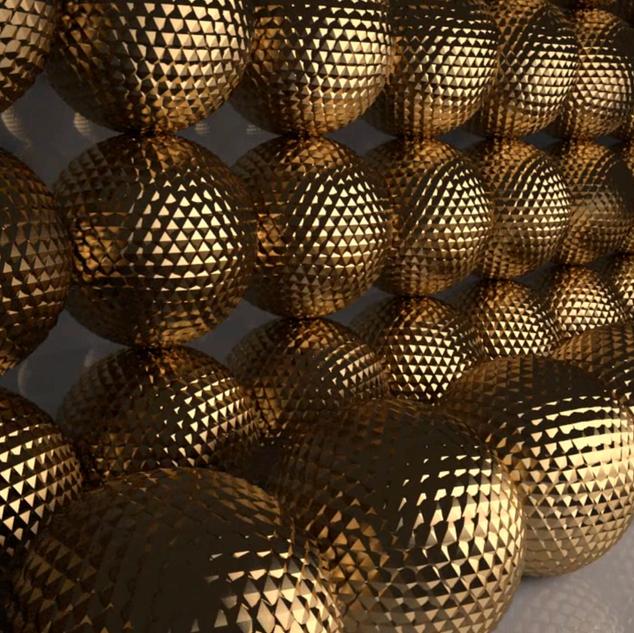 Gold - 3D Portfolio Showcase