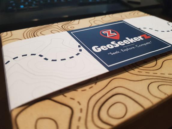 GeoSeekerz Logo & Packaging Design - View