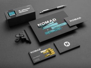 Nomad Brand Identity - View