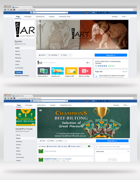 Social Media Page Setup & Design - From R399