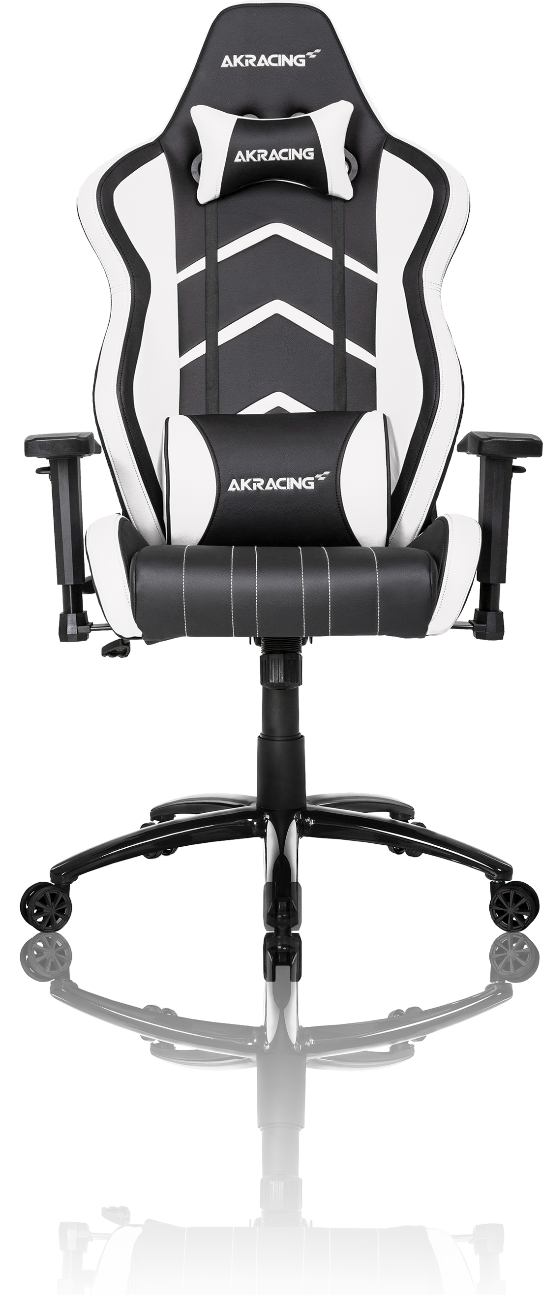 Excellent Akracing Player Gaming Chair Black White Machost Co Dining Chair Design Ideas Machostcouk