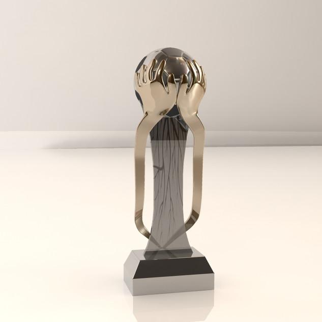 DSTV Diski Trophies - 3D Modelling & Rendering