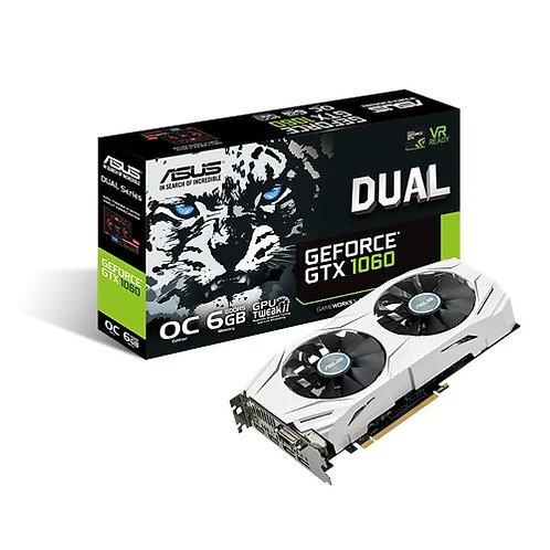 ASUS Geforce GTX 1060 6GB OC Dual Edition
