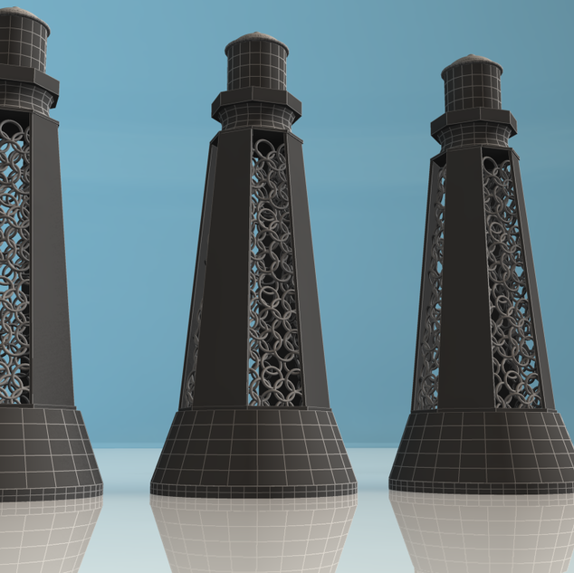 Lighthouse Trophies - 3D Modelling
