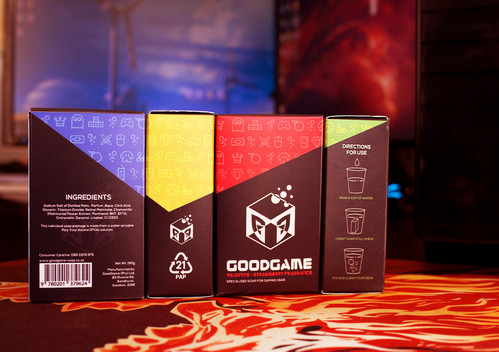 GoodGame Branding & Packaging - View