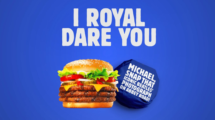 Whopper Dares - View