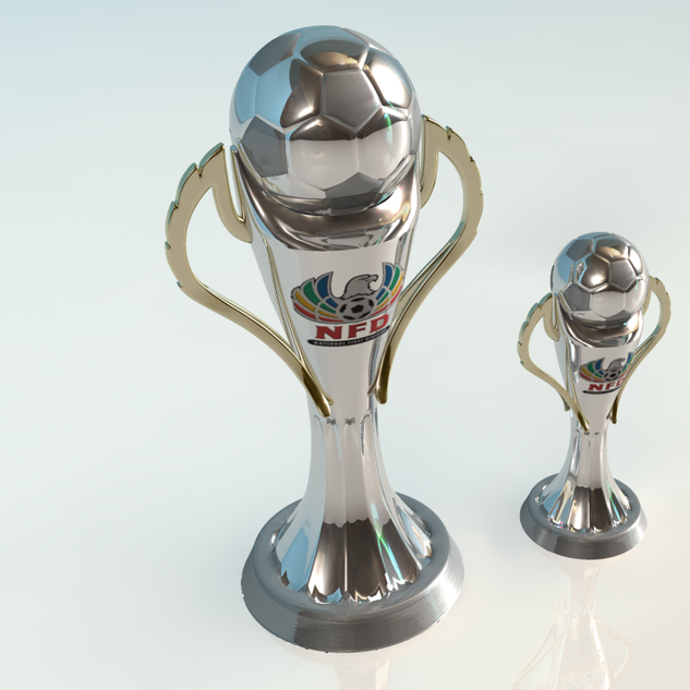 NFD Trophies - 3D Modelling, Texturing and Lighting