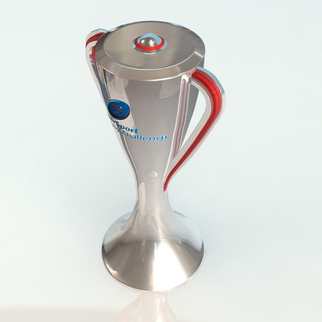Supersport 2017 Trophy - Modelling, Texturing, Rendering