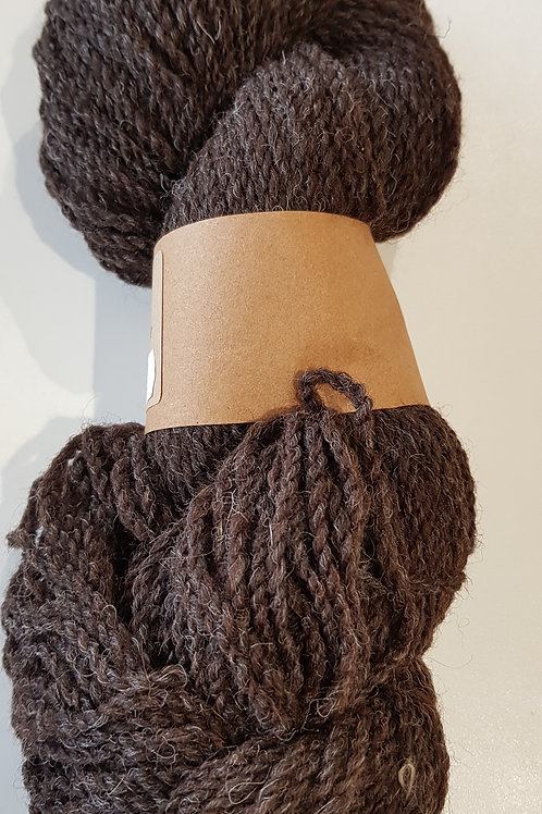 Jacob Sheep Yarn Dark Brown