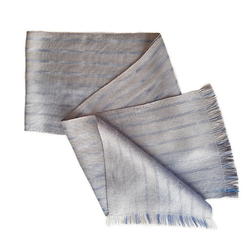 Misty Loch - Misty Isle Collection Handwoven Silk Scarf