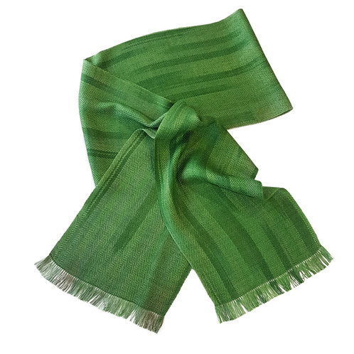 Moss - Croft Collection Handwoven Silk Scarf