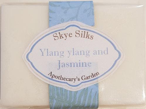 Ylang Ylang and Jasmine Soap with Silk