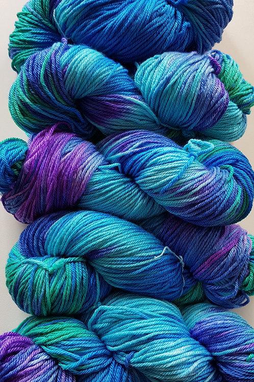 DK Hand Dyed Yarn - Mermaid
