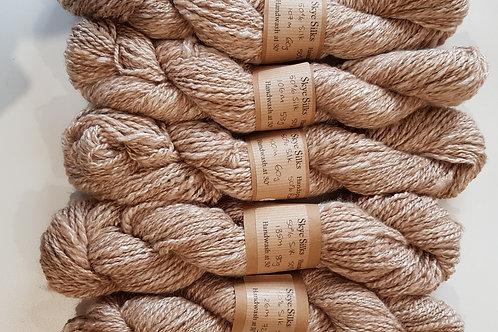 Silk and Baby Camel Handspun Yarn