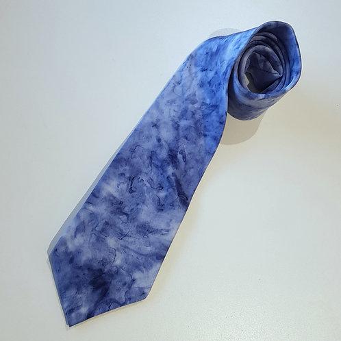 Slate Silk Tie - Skye Clouds Design