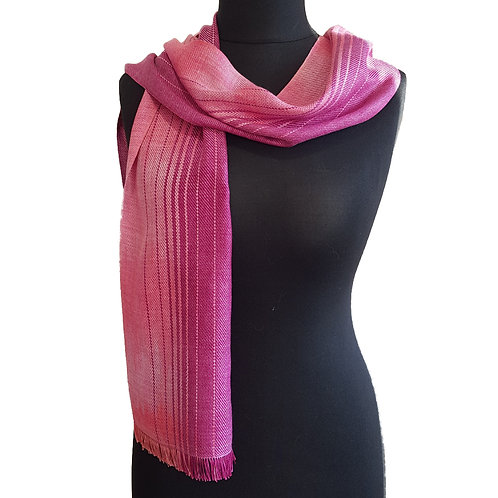 Heather Rose - Sunset Collection Handwoven Silk Scarf