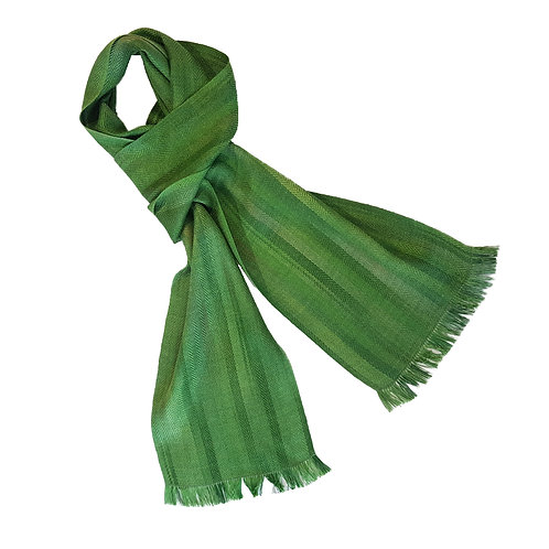 Moss and Stone - Croft Collection Handwoven Silk Scarf