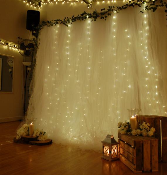 Fairy Lights Backdrop