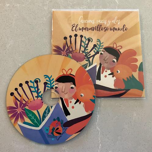 El maravilloso mundo - CD