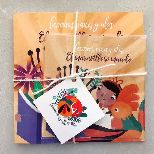 El maravilloso mundo - Conjunto de CD & Libro (CD & Booklet Set)