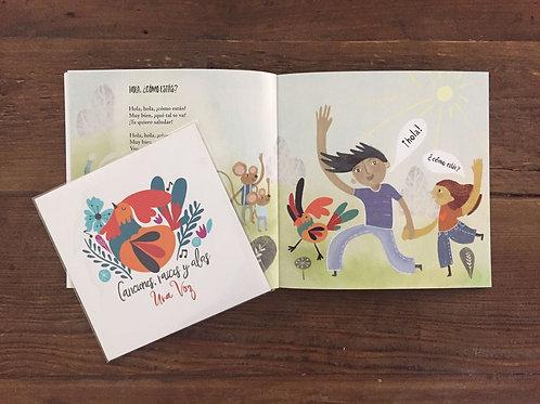 Una Voz - Libro de Ilustraciones (Illustration booklet)
