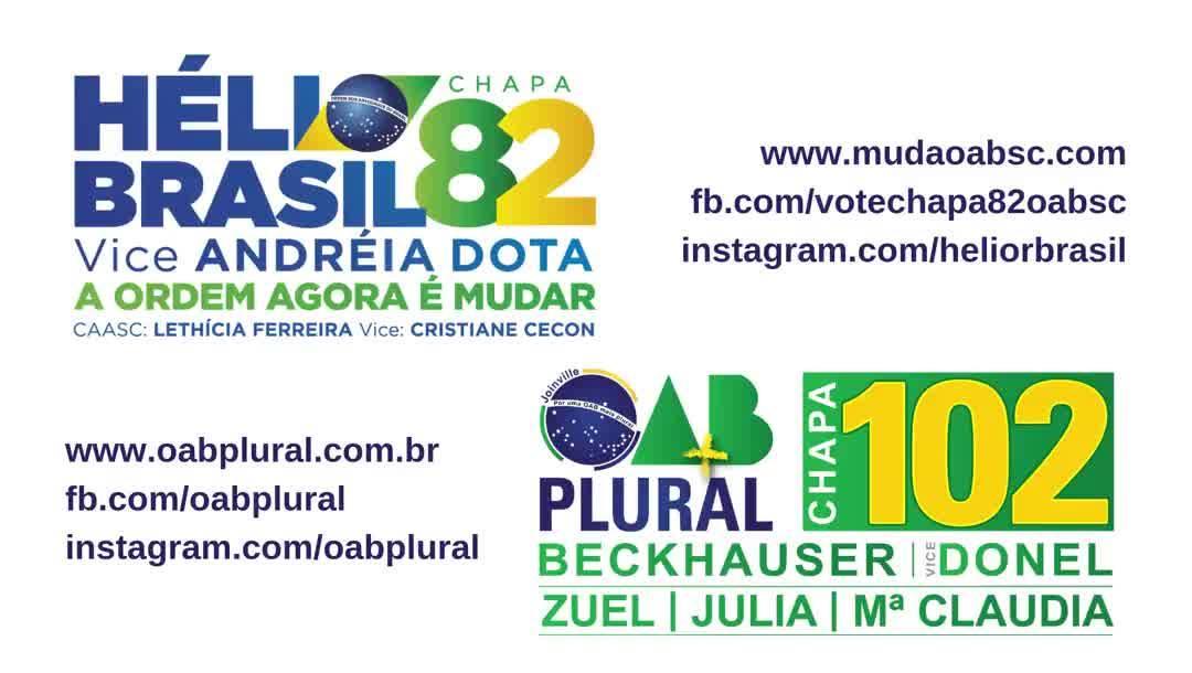 Dr. Guilherme Cauduro, sobre a Chapa 82 A Ordem agora é Mudar e Chapa 102 OAB Plural - A Ordem agora é RENOVAR.