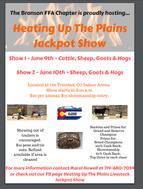 Heating Up The Plains Jackpot Show- June 9 & 10,2018