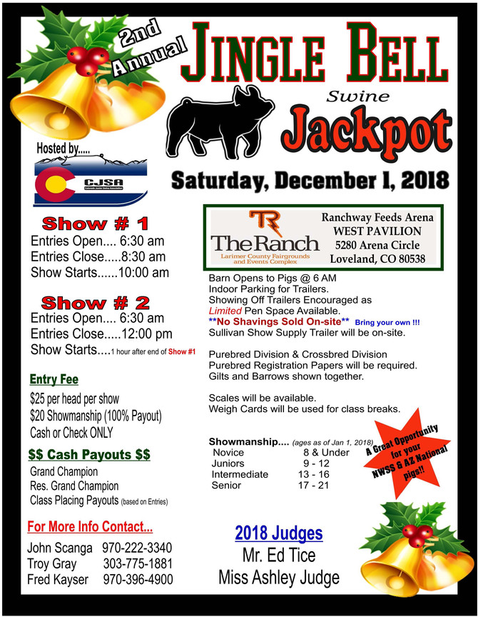 Jingle Bells Jackpot - Dec 1, 2018