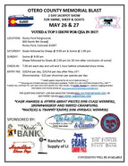 Otero County Memorial Blast - May 26 & 27, 2018