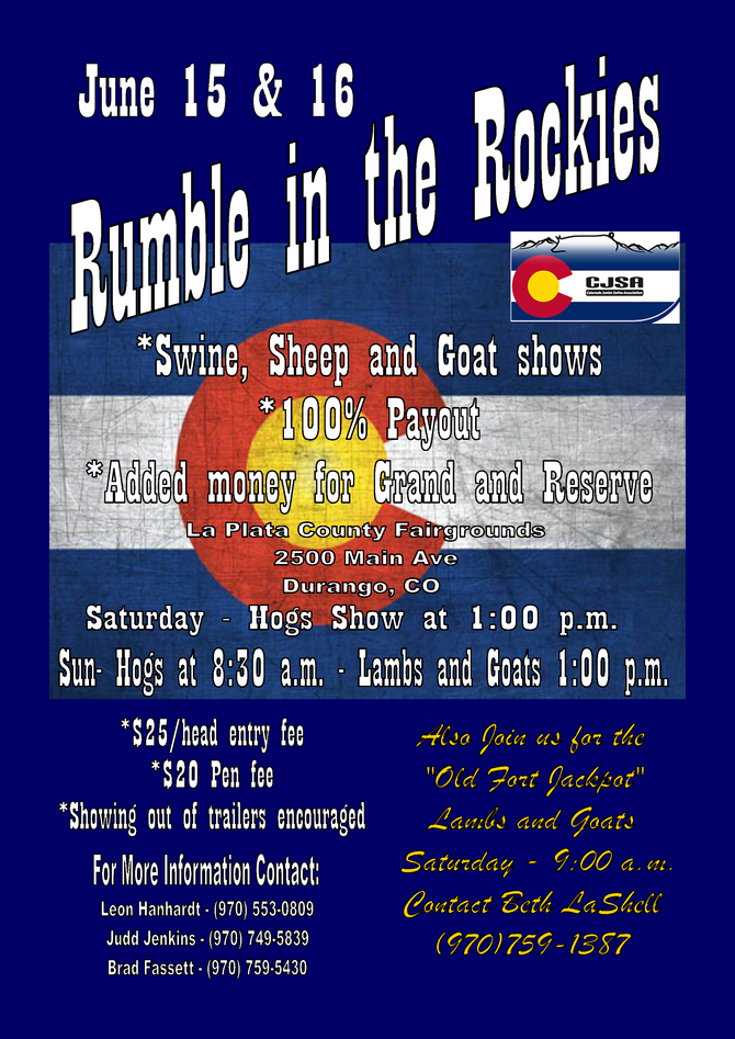 Rumble in the Rockies - June 15-16, 2019