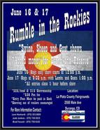 Rumble in the Rockies - June 16-17, 2018