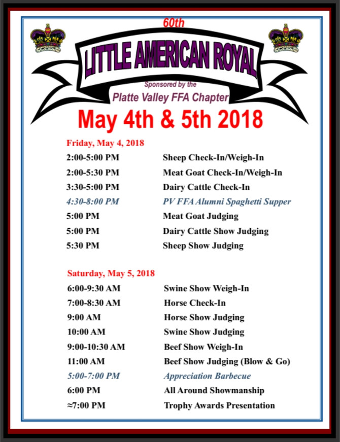 Little American Royal - May 4, 2019