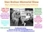 Stan Brehon Memorial Show- May 5, 2019