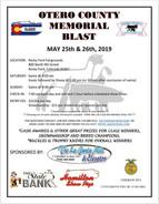 Otero County Memorial Blast - May 25 & 26, 2019