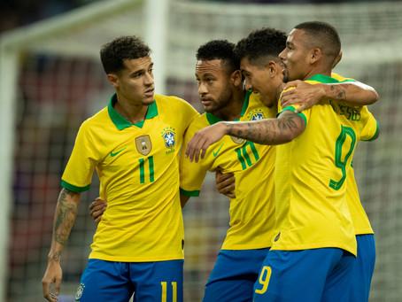 A volta da seleção brasileira masculina
