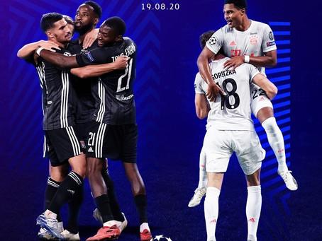 Lyon e Bayern por uma vaga na final da UCL