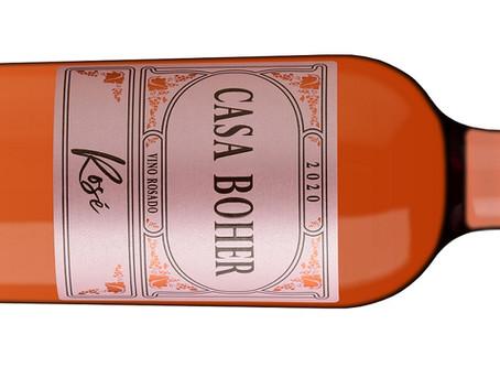 Casa Boher se luce con un rosé refrescante y de buen cuerpo