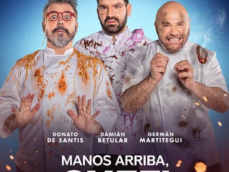 Betular, Martitegui y De Santis vuelven a la pantalla