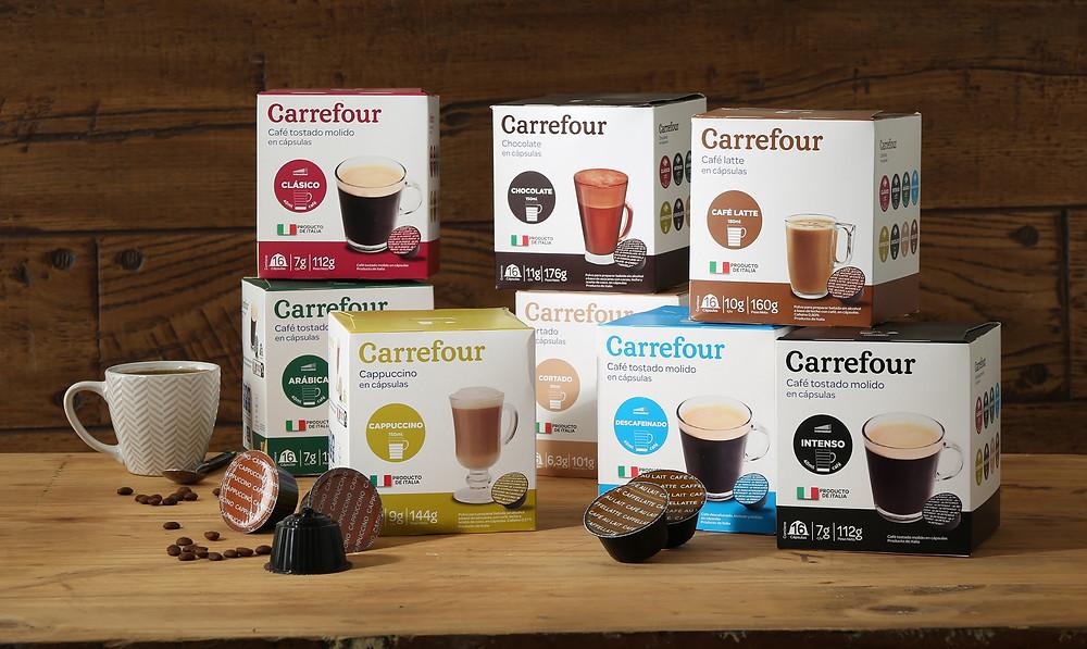 cápsulas café Carrefour