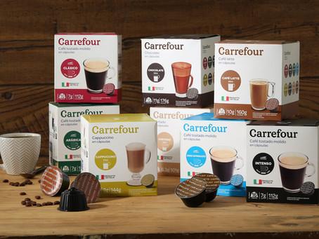 Carrefour lanza cápsulas de café compatibles con Dolce Gusto