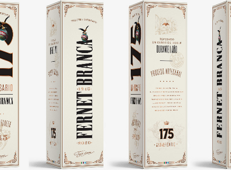 Branca lanza una edición aniversario de su fernet