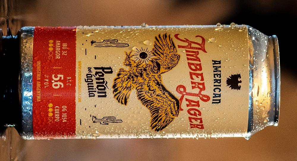 American Amber Lager de Peñón del Águila