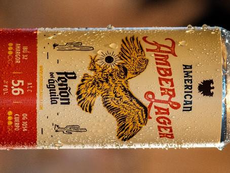 American Amber Lager, de Peñón del Águila, ahora en lata