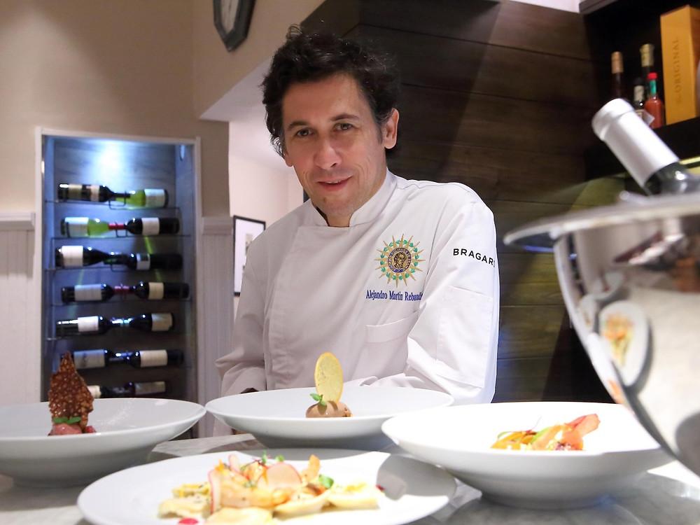 Chef Martín Rebaudino