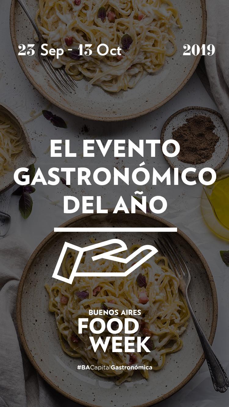 Sigue el posicionamiento de la Ciudad de Buenos Aires como Capital gastronómica de Latinoamérica con elBuenos Aires Food Week