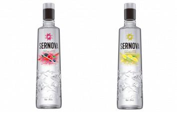 Sernova lanza dos nuevos vodkas saborizados