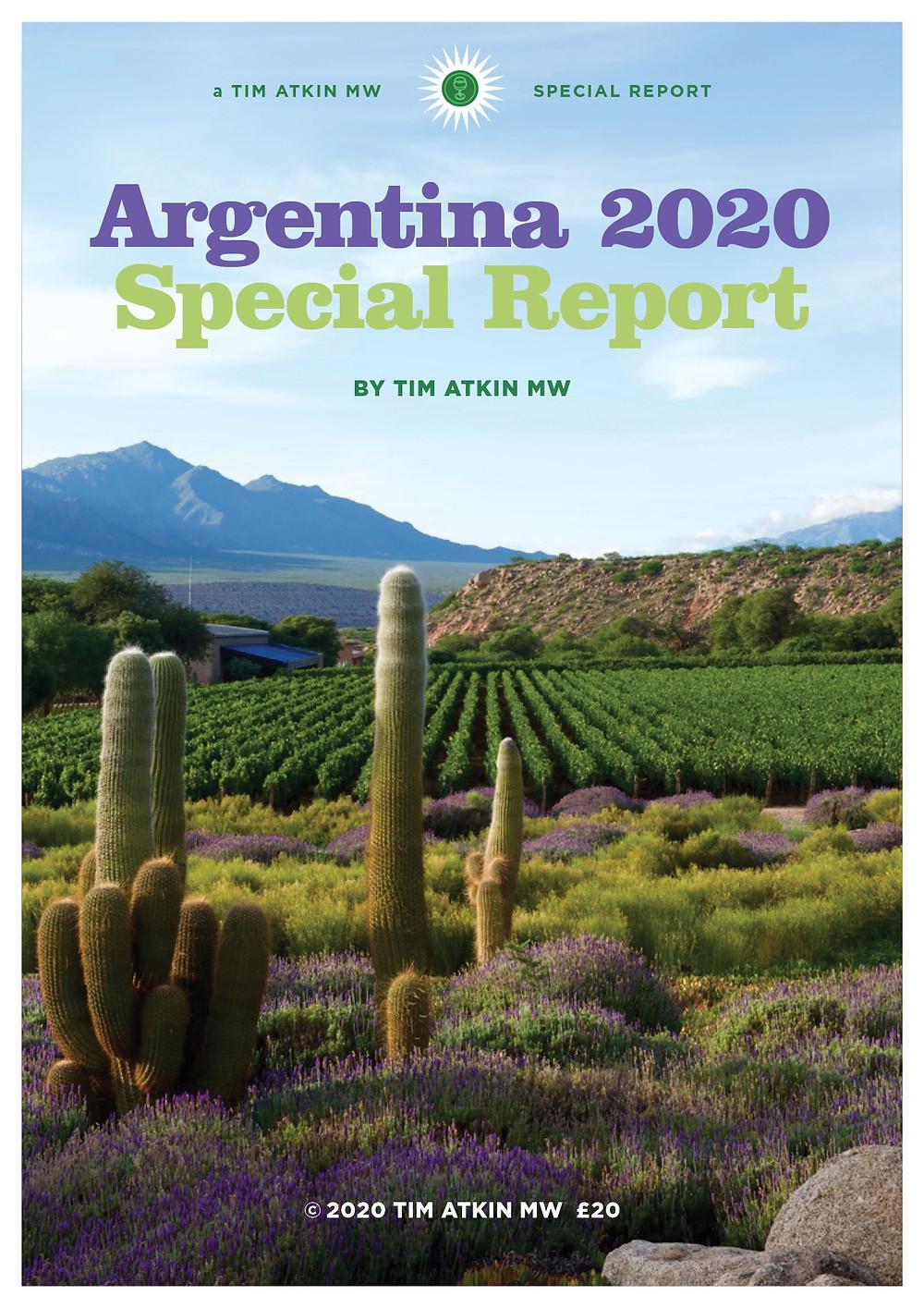 Tim Atkin Argentina 2020 Special Report