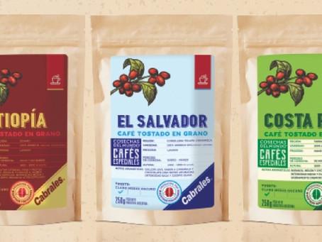 Cabrales lanza tres nuevos cafés de especialidad