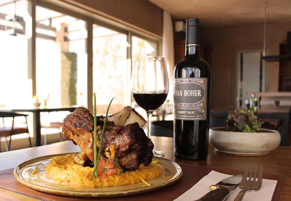 Rosell Boher Lodge restaurante